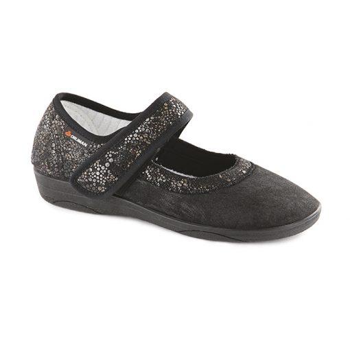 Zapato terapéutico Belle-Ille, negro